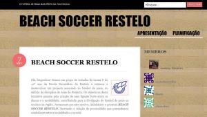 O blogue BEACH SOCCER RESTELO nasceu a 7 de Novembro de 2010